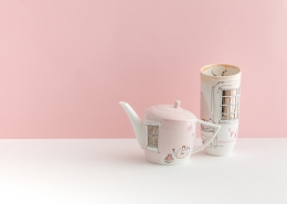 Teapot and Vase